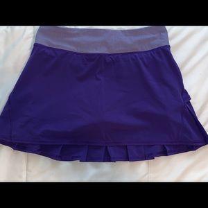 Lululemon purple size 4 tennis skirt